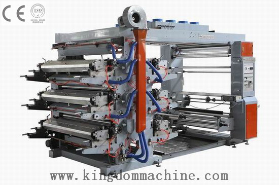 Supply Sale Manufacturer Six Colors Flexo Printing Machine For